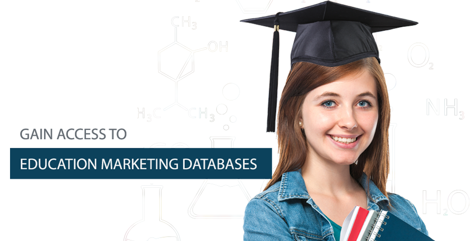 Gain access to education marketing database